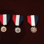 Gold, Silver, and Bronze Theory Medals